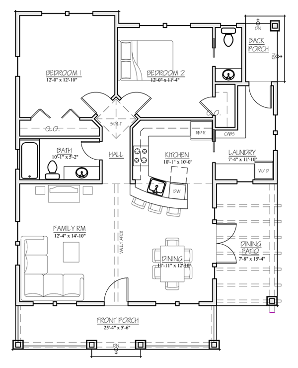 Madson Design House Plans Gallery -