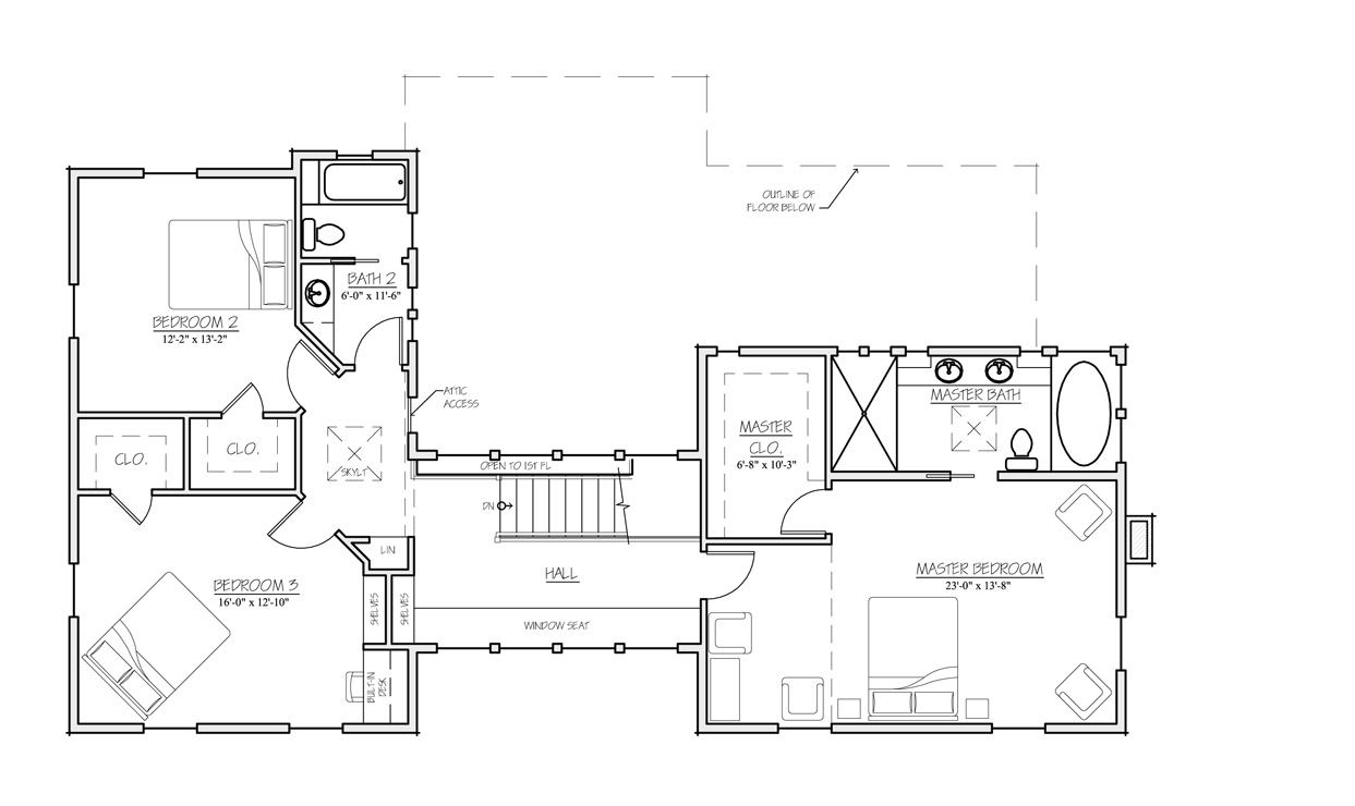 Madson Design House Plans Gallery - American Homestead Revisited ...