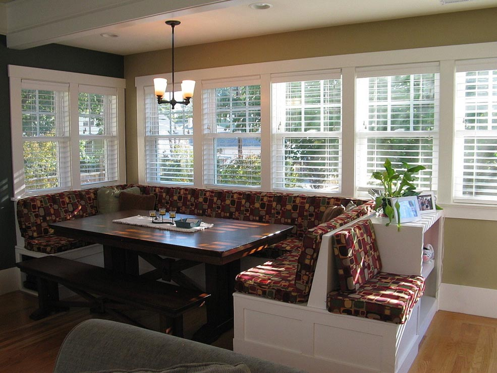 Breakfast nook dining room for Dining room nook ideas