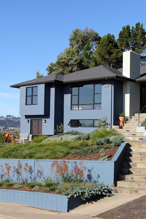 Sample Front Elevation Landscaping : Madson design project gallery whole house remodel south