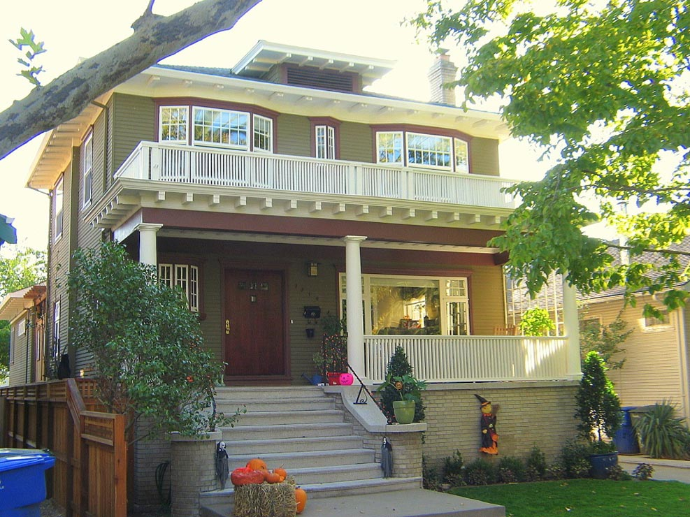 Front Elevation Of Beautiful House : Madson design project gallery historic home remodel